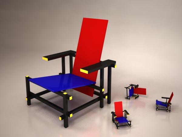 Perfect Gerrit Thomas Rietveld. Rietveld Chair